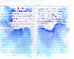 orange notepad water dam121